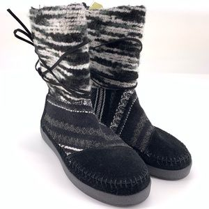 Toms Shoes - Toms Napal Winter Pull On Boot Fur Lined
